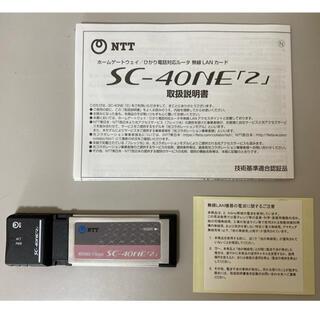 NTT  西日本 SC-40NE「2」無線LANカード