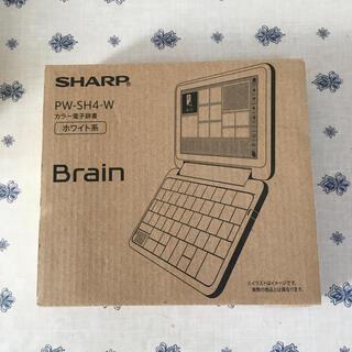 SHARP - SHARP 電子辞書 PW-SH4-W
