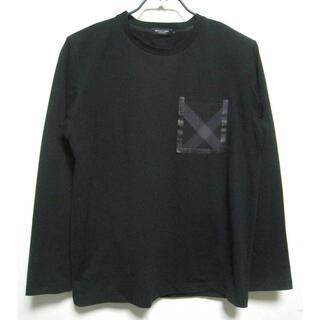 BLACK LABEL CRESTBRIDGE 長袖tシャツ ロンT 黒