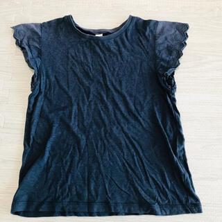 アンパサンド(ampersand)のアプレレクール*半袖レースカットソー*130(Tシャツ/カットソー)