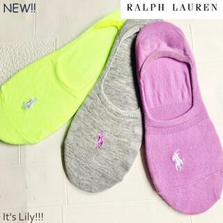 Ralph Lauren - 日本未入荷 新作 スニーカー  ライナー ラルフローレン 靴下 ソックス