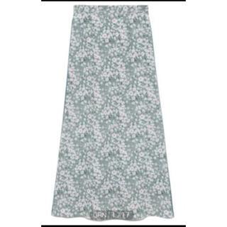 FRAY I.D - 2021年春夏新作FRAY I.Dサイドラインプリントナロースカート