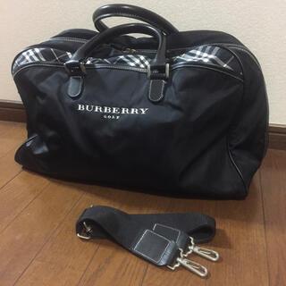 BURBERRY - バーバリーゴルフ☆シューズ入れ付きボストンバッグ