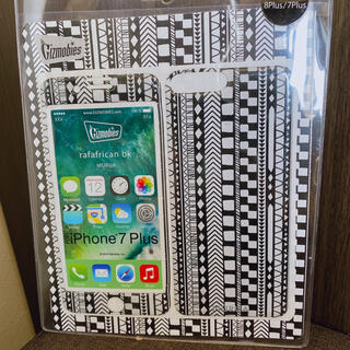 ムルーア(MURUA)の【新品未使用】MURUA ギズモビーズ モバイルプロテクター iPhone8+(モバイルケース/カバー)