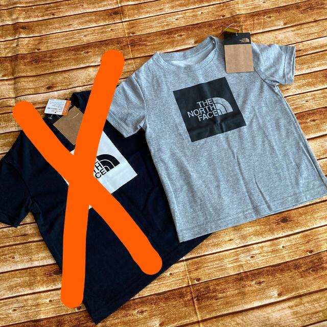 THE NORTH FACE(ザノースフェイス)のザノースフェイス Colored Big Logo Tee キッズ/ベビー/マタニティのキッズ服男の子用(90cm~)(Tシャツ/カットソー)の商品写真