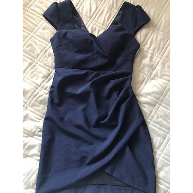 JEWELS(ジュエルズ)のJEWELS  ミニドレス  ネイビーXL  レディースのフォーマル/ドレス(ミニドレス)の商品写真