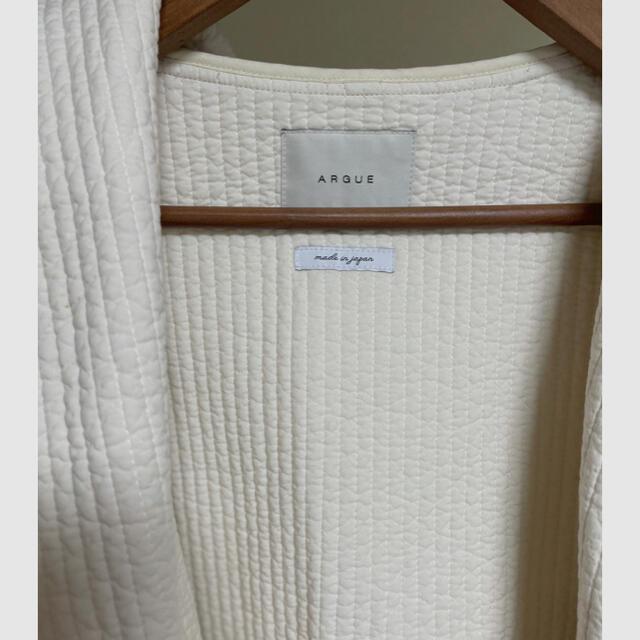 L'Appartement DEUXIEME CLASSE(アパルトモンドゥーズィエムクラス)のARGUE /KENDO FOODIE COAT LONG レディースのジャケット/アウター(ガウンコート)の商品写真