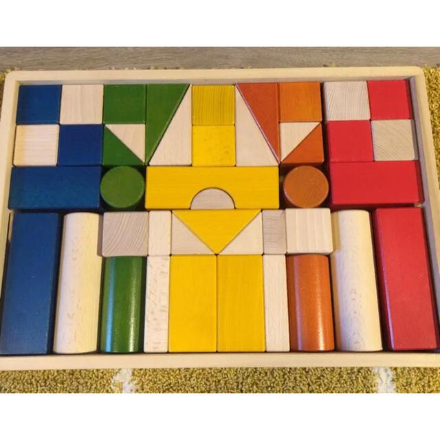 BorneLund(ボーネルンド)のボーネルンド積み木 キッズ/ベビー/マタニティのおもちゃ(積み木/ブロック)の商品写真