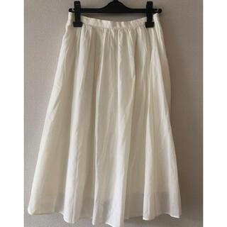 ボールジィ(Ballsey)のトゥモローランド Ballsey白スカート(ひざ丈スカート)