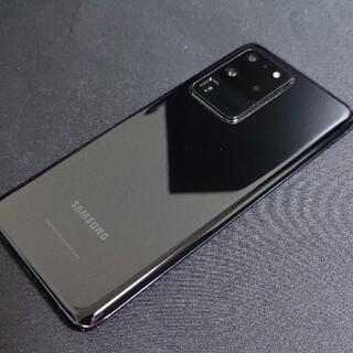 Galaxy - Galaxy S20 Ultra 5G 12GB/256GB コスミックブラック