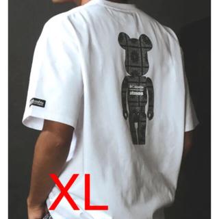 アトモス(atmos)のColumbia x atmos x BE@RBRICK WHITE Tee(Tシャツ/カットソー(半袖/袖なし))