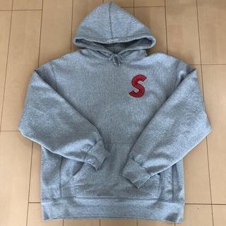 Supreme - supreme sロゴ フーディー  シュプリーム