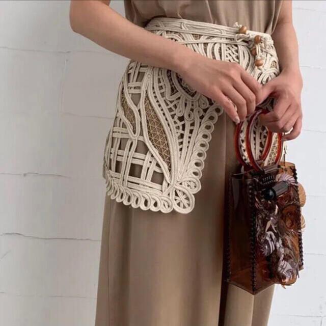 mame(マメ)のmamekurogouchi コード刺繍 サイズ1 マメクロゴウチ レディースのファッション小物(その他)の商品写真