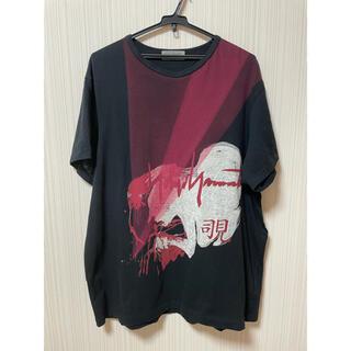 Yohji Yamamoto - Yohji Yamamoto 新撰組 プリント コットン天竺 Tシャツ