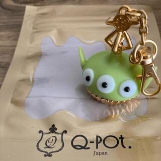 キューポット(Q-pot.)のリトルグリーンメン バッグチャーム(チャーム)