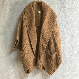 anatelier - アナトリエ カーディガン ブラウン 5分袖 7分袖