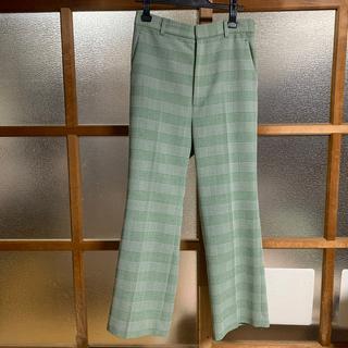 BEAUTY&YOUTH UNITED ARROWS - 6 ROKU GREEN CHECK PANTS チェックパンツ