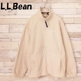 エルエルビーン(L.L.Bean)のエルエルビーン 70~80's ワンポイント刺繍ロゴ フリースジップジャケット(その他)