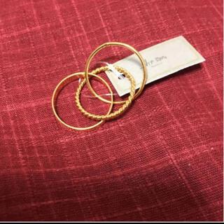 アネモネ(Ane Mone)の【新品】アネモネ 指輪 3点セット(リング(指輪))