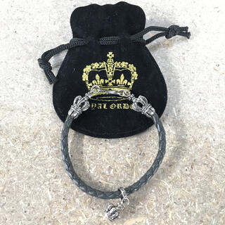 ROYALORDER - 美品 ROYAL ORDER CROWNTOP BRACELET CH