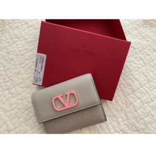 valentino garavani - VALENTINO 三つ折り財布