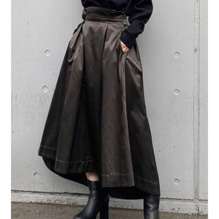 ムルーア(MURUA)のMURUA ワイドベルトボリュームスカート(ロングスカート)