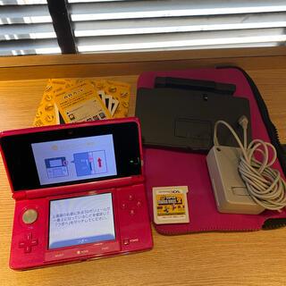 ニンテンドー3DS - Nintendo 3DS 本体 ピンク 箱なし