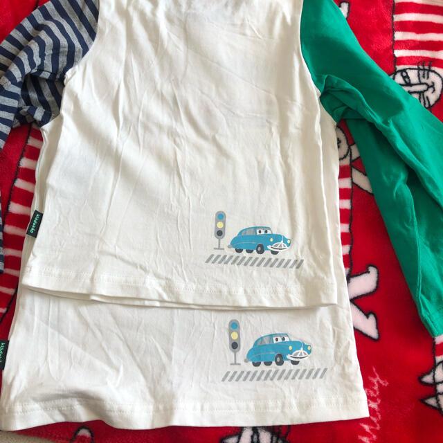 kladskap(クレードスコープ)のクレードスコープ カーズ ロンT 90 110 キッズ/ベビー/マタニティのキッズ服男の子用(90cm~)(Tシャツ/カットソー)の商品写真