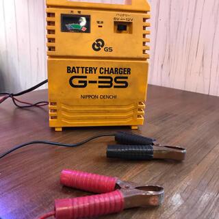 6ボルトバッテリー、充電器のセット