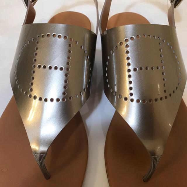 Hermes(エルメス)の(美品)HERMES サンダル エヴリン/ブロンズ レディースの靴/シューズ(サンダル)の商品写真