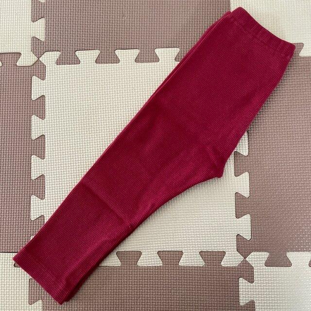 UNIQLO(ユニクロ)のユニクロ レギンス90cm 2枚 キッズ/ベビー/マタニティのキッズ服女の子用(90cm~)(パンツ/スパッツ)の商品写真