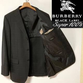 BURBERRY BLACK LABEL - 極美品! 日本製バーバリーブラックレーベル ノバチェック  テーラードジャケット