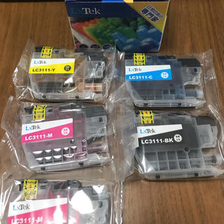 brother - 新品未使用LxTek brother互換 LC3111 4色+1色セット