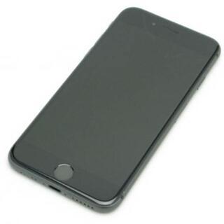 アイフォーン(iPhone)の【C】SIMフリー docomo iPhone8 64GB スペースグレイ(スマートフォン本体)