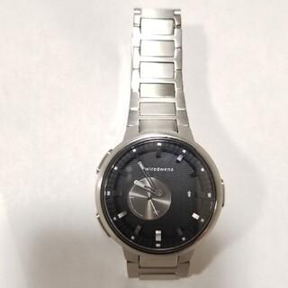 セイコー(SEIKO)のWena3  ワイアード wiredwena AGAB419 シルバー(腕時計(アナログ))