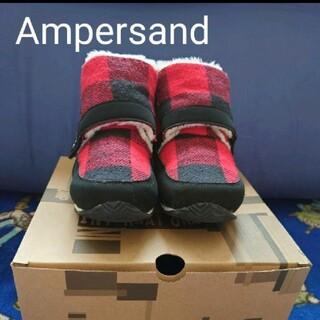 ampersand - Ampersand ショートブーツ 21cm