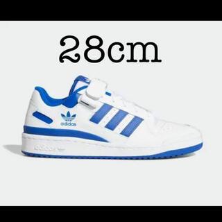 adidas - adidas FORUM LOW ロイヤルブルー 28cm