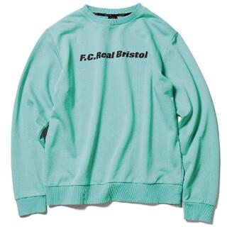 F.C.R.B. - F.C.Real Bristol LOGO CREWNECK SWEAT L