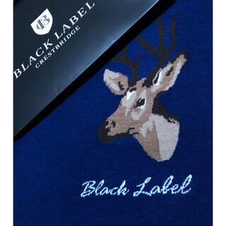 BURBERRY - 新品 ブラックレーベルクレストブリッジ 羊毛100%ニットL