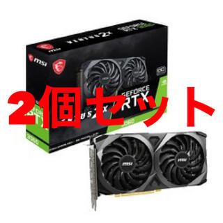 新品 未開封 MSI RTX 3060 VENTUS 2X 12G OC