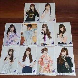 ノギザカフォーティーシックス(乃木坂46)の白石麻衣 ポストカード(アイドルグッズ)