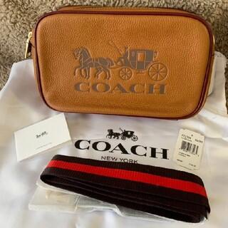 COACH - 【新品未使用】 COACH コーチ ショルダーバッグ ブラウン