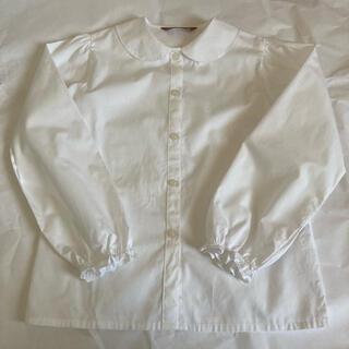 キャサリンコテージ(Catherine Cottage)のキャサリンコテージ 白 ブラウス 丸襟 140cm(ブラウス)