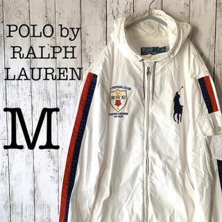 POLO RALPH LAUREN - 【ラルフローレン×1点物】古着 メンズ トップス パーカー ジップアップ ★美品