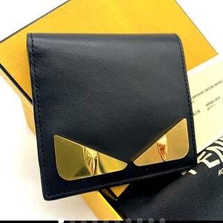 フェンディ(FENDI)の超美品✨鑑定済み✨FENDI フェンディ モンスター 折り財布 札入れ✨(折り財布)