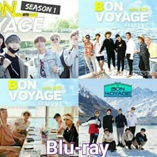 防弾少年団(BTS) - BTS BON VOYAGE ブルーレイ 1〜4シーズンセット 日本語字幕