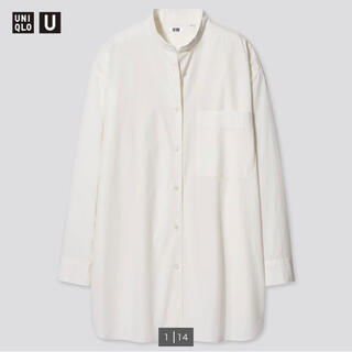 UNIQLO - オーバーサイズシャツ