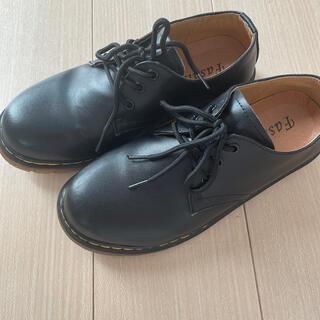 レディース ポストマンシューズ ブラック 25cm(ローファー/革靴)