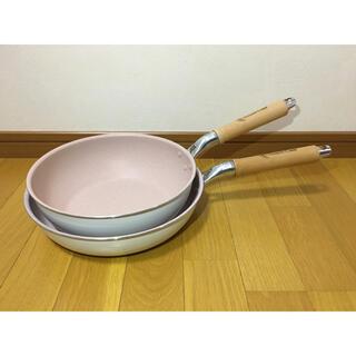 sweet leaf 軽〜いフライパン26cm&深型フライパン24cm