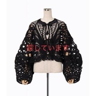 mame - mame  kurogouchiコード刺繍